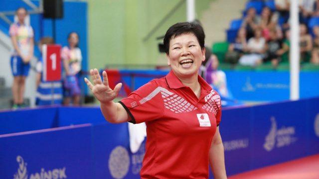 56歲盧森堡老將倪夏蓮取得東京奧運參賽權