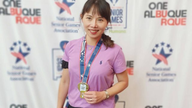 LDS阿亞球友在全美長青運動會勇奪雙金
